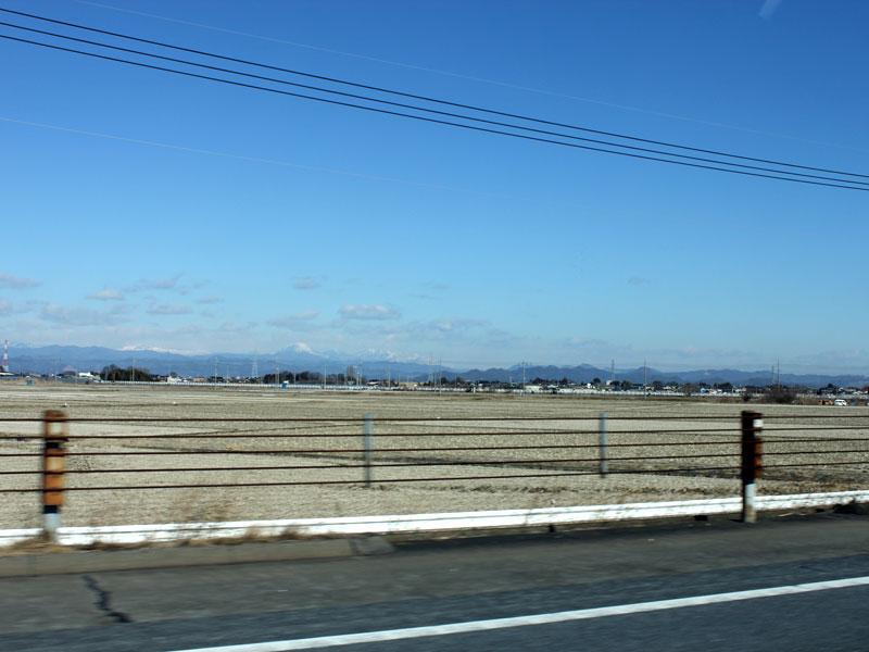 東北自動車道・車窓からの風景