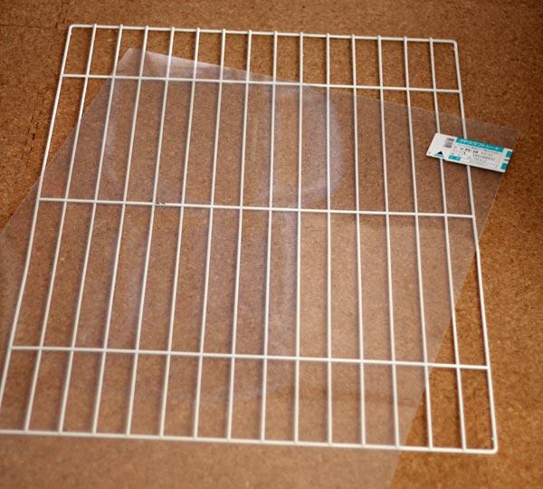 透明のプラスチック板