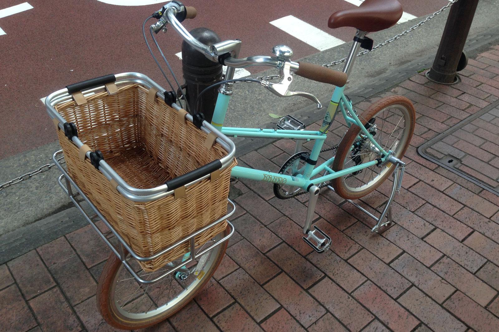 ブルーノの自転車