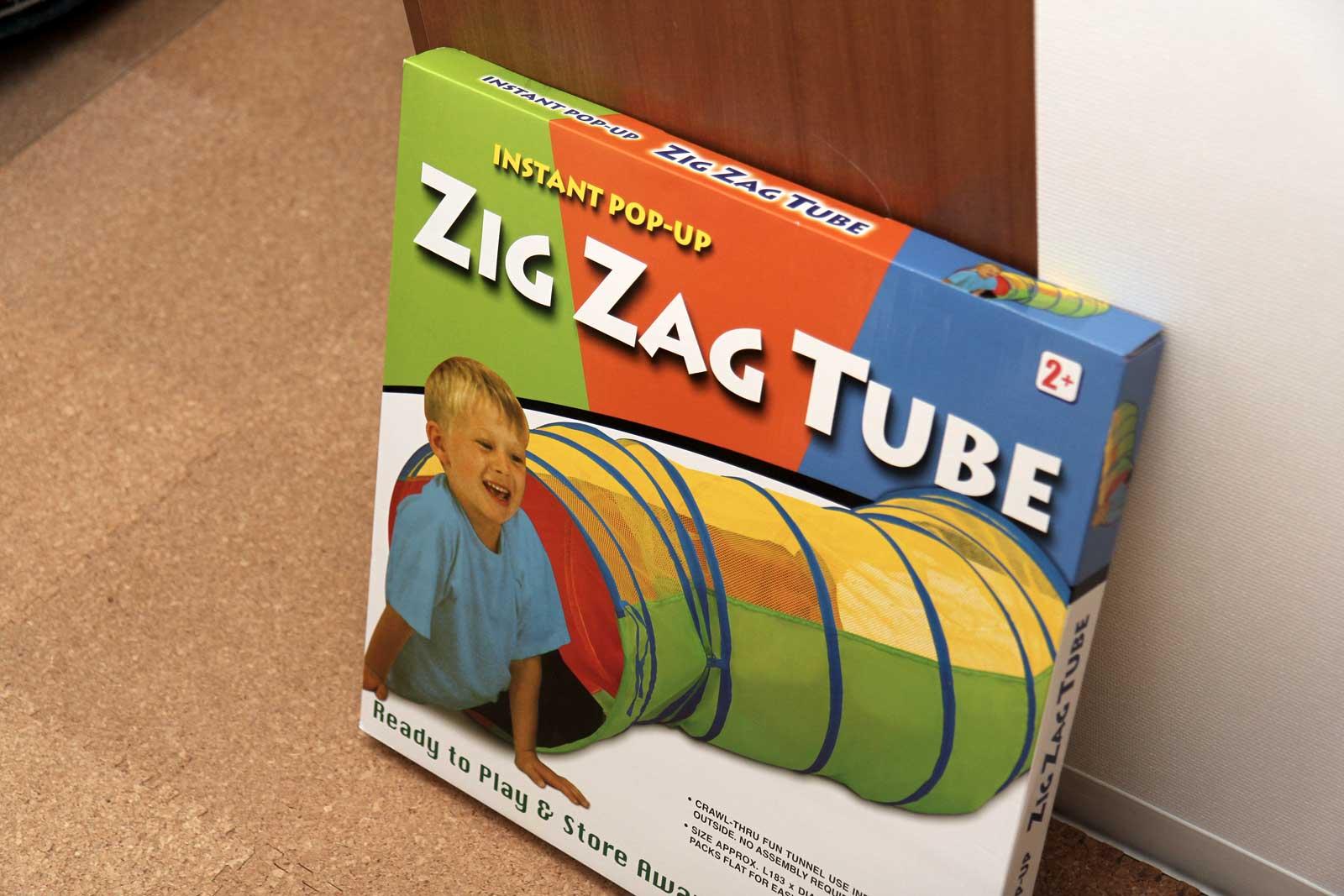 トンネルのおもちゃ
