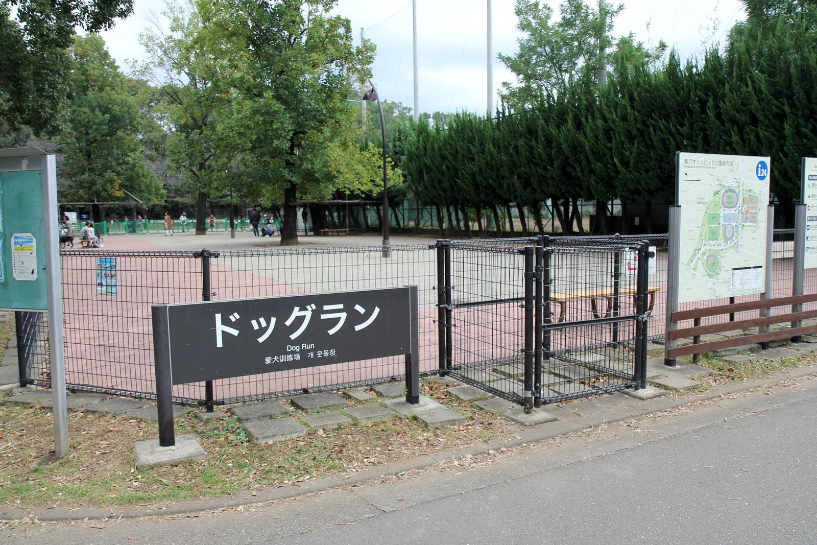 駒沢公園ドッグラン