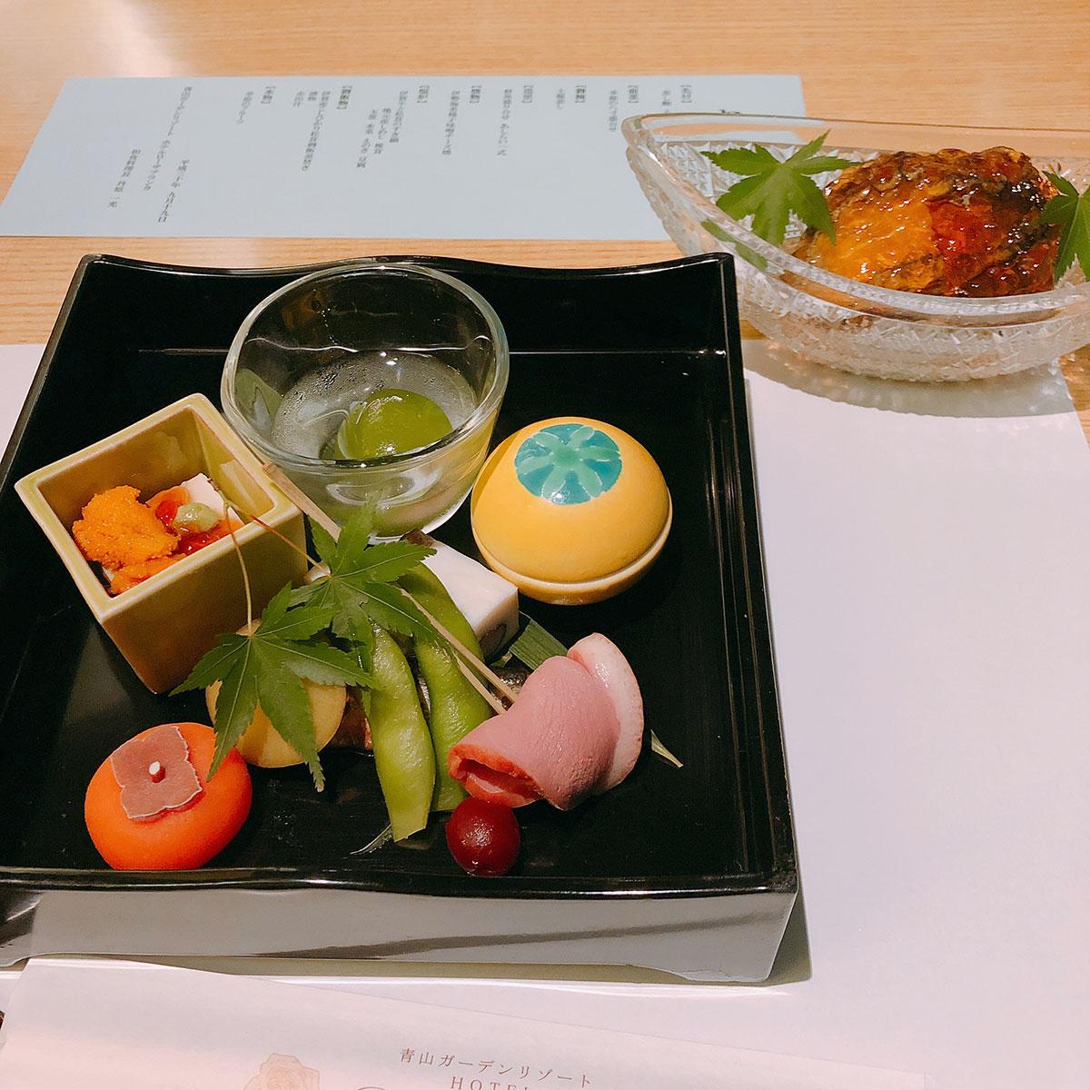 和食の夕食