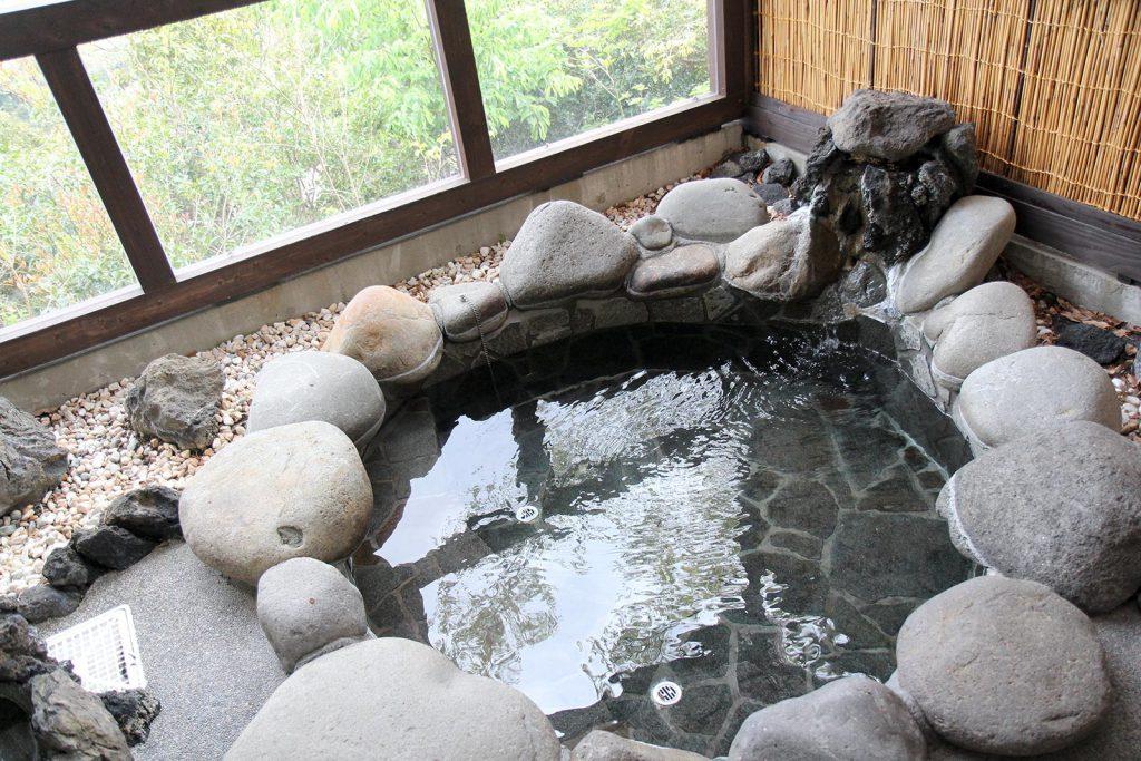部屋つきの露天風呂